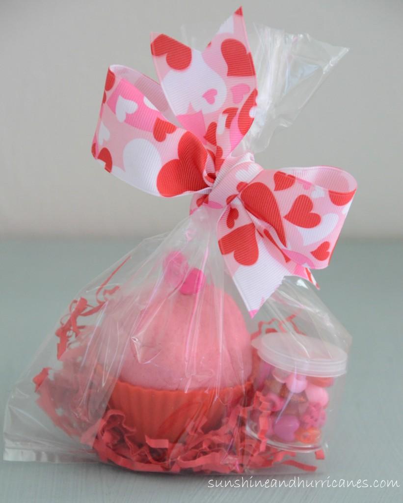 Valentine's Day Playdough Cupcake