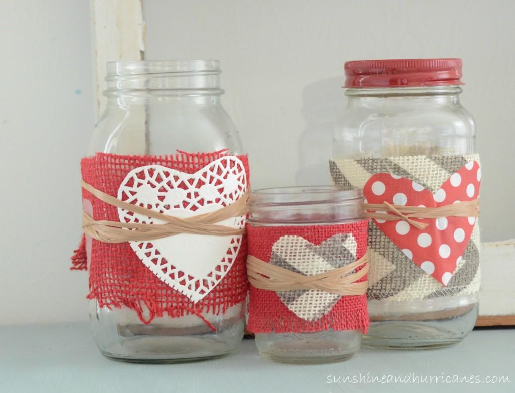 Valentine s Day Mason Jars