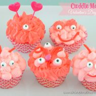 Cuddle Monster – Valentine's Day Cupcakes