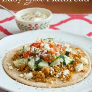 Easy Greek Flatbread Recipe