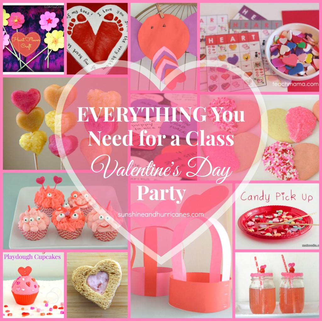 Do You Have Class Party Duty for Valentine's Day. We've Got You Covered with Valentine's Crafts, Activities, Treats, Drinks and Moare. Everything You Need for a Class Valentine's Day Party.