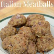 Irresistible Italian Meatballs Recipe