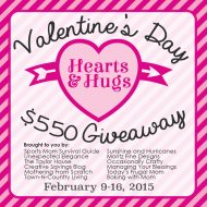 Valentine's Day Hearts and Hugs $550 Giveaway