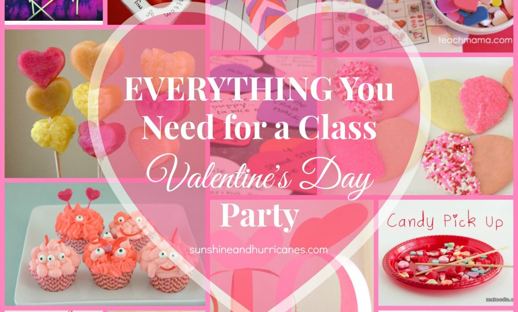 Everything You Need for a Class Valentine's Day Party