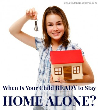 Every child is different, which can make big parenting decisions more difficult. As children get older it can be difficult to determine when they are ready for various stages of independence. Here is one approach to evaluate when your child is ready to stay home alone. sunshineandhurricanes.com