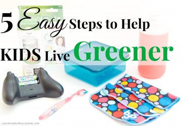 We all care about the planet, but as busy as our lives get it can seem overwhelming to teach our kids environmentally conscious habits. Good news! It doesn't have to be complicated. There are many simple things you can do every day that take only seconds AND in some cases actually save you money. Here are 5 Easy Steps to Help Kids Live Greener. sunshineandhurricanes.com