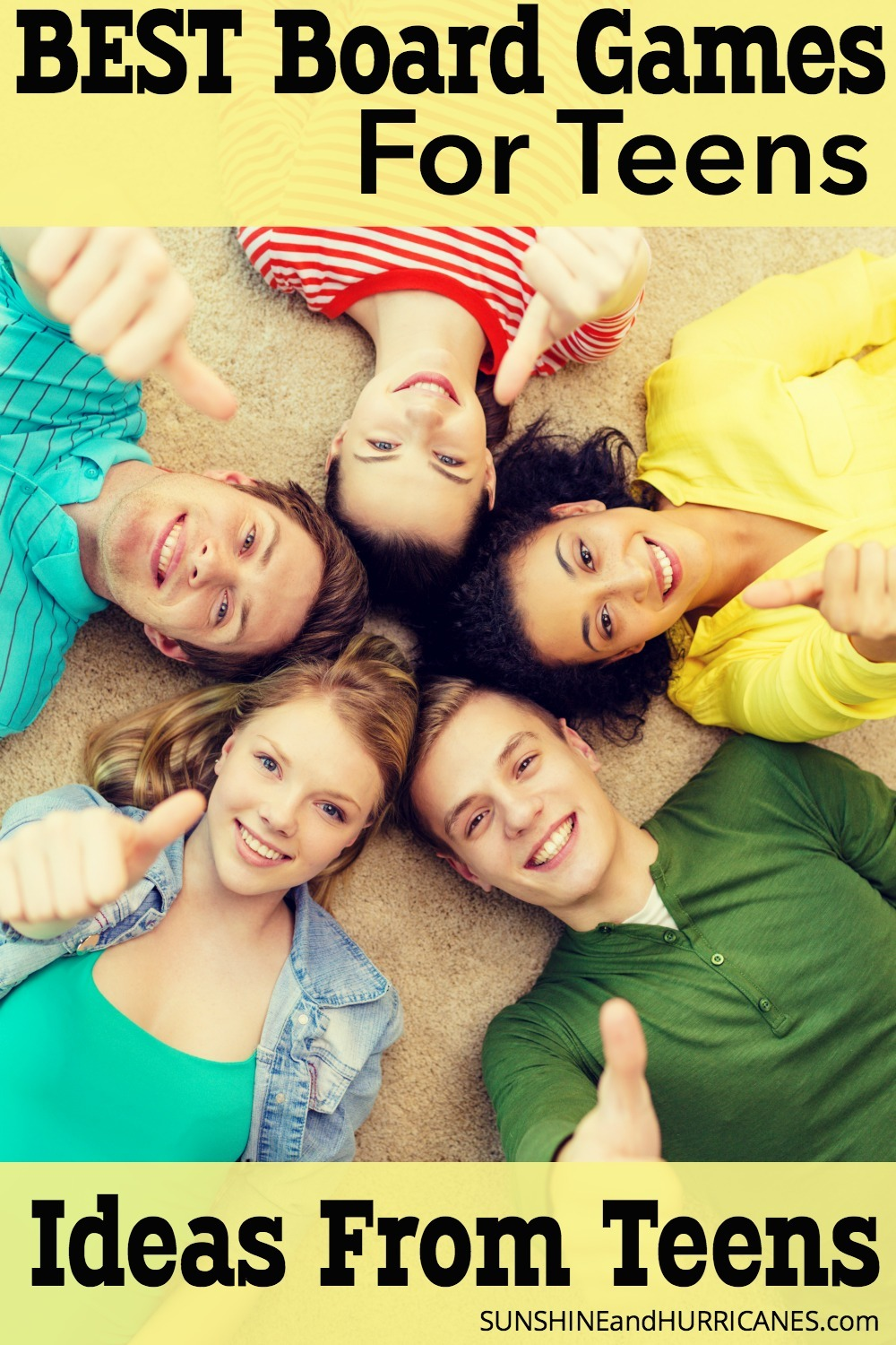 Looking for a way to connect with your teen? We forget sometimes that teens are still kids and they do enjoy spending time with their family if it's fun. Family game night is one of the best ways to bring everyone together and with these suggestions for board games for teens from teens, you'll already be set up for success. SunshineandHurricanes.com