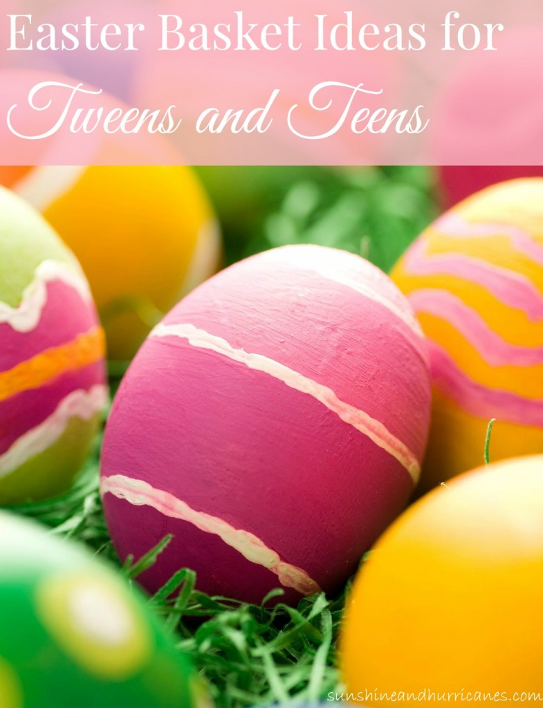 Tween Easter Basket Ideas