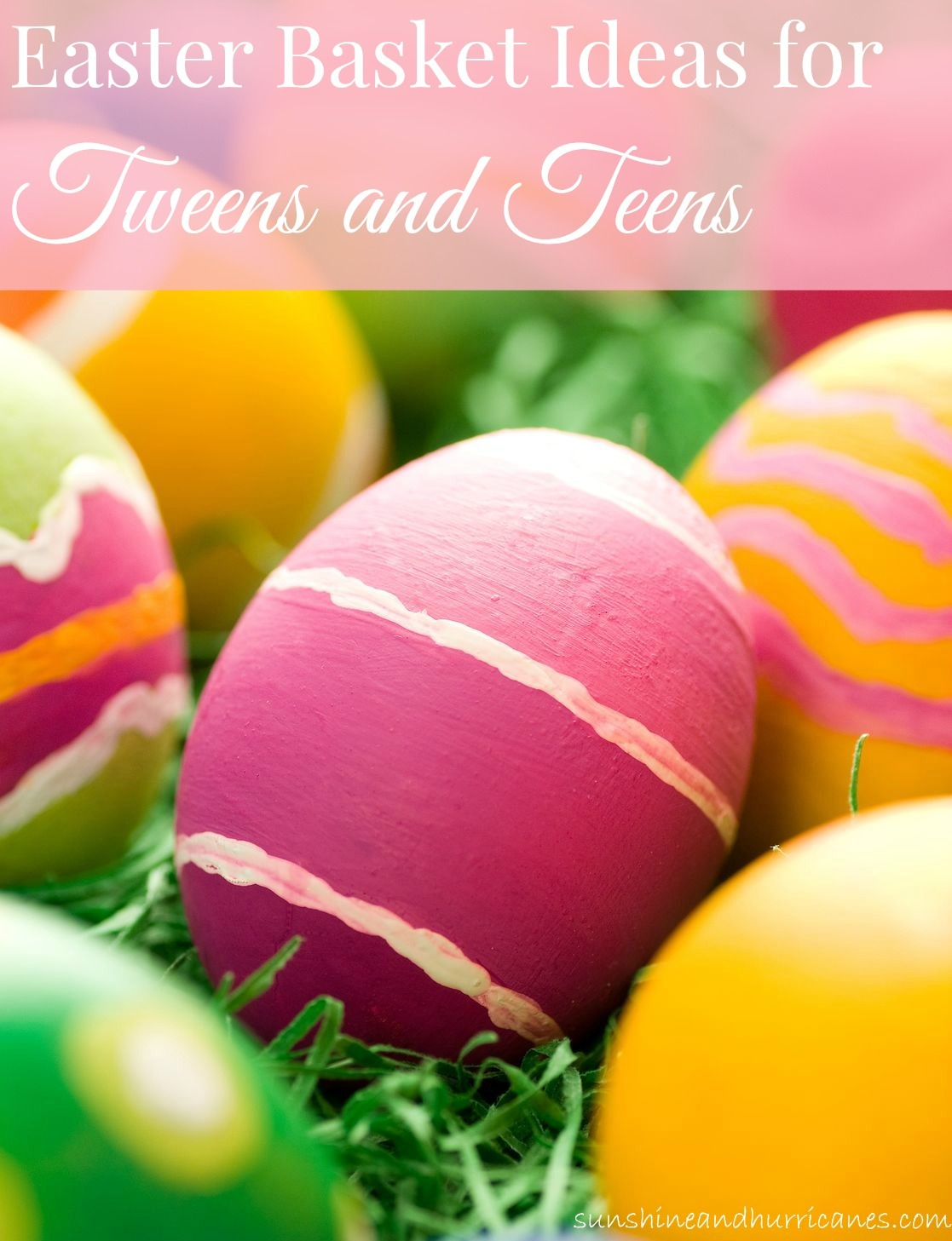 Best Apps For 4 Year Olds >> Easter Basket Ideas For Tweens and Teens - Sunshine and ...
