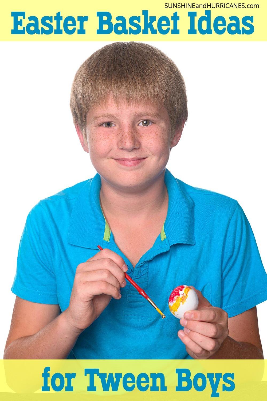 basket boy easter idea teen