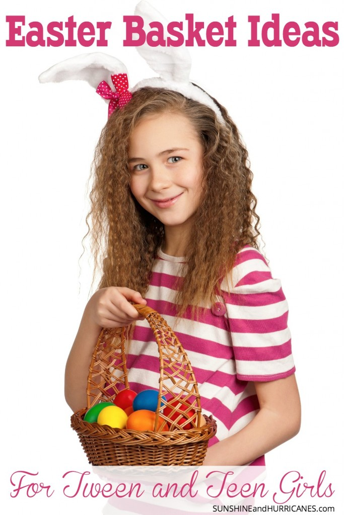They may act like they are too cool for the Easter bunny and egg hunts, but our tweens and teens still like to be included in family celebrations. While they may not participate in the full-on Easter festivities, a small basket with a few items for them is a great way to keep them connected and let them know you care. They aren't an easy bunch to please, but we've got some ideas provided by their peers that would make great Easter Basket Ideas for Tweens and Teens. SunshineandHurricanes.com