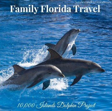Florida Family Travel - 10,000 Islands Dolphin Project Main