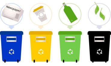 5 Simple Ways to Help Kids Live Greener. Recycling Bins. sunshineandhurricanes.com