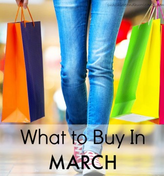 Did you know that each month has it's own unique set of deals that are the best they will ever be at for the whole year? This is a great way to manage the family budget and get the best prices on the items your family needs and uses. Here we'll tell you the inside secrets about what to buy in March.