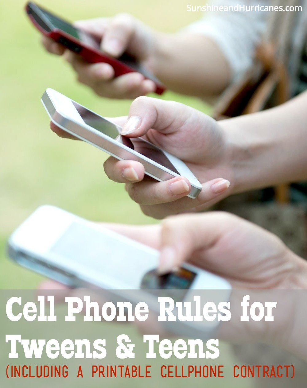 This is a graphic of Dynamite Printable Cell Phone Contract for Tweens