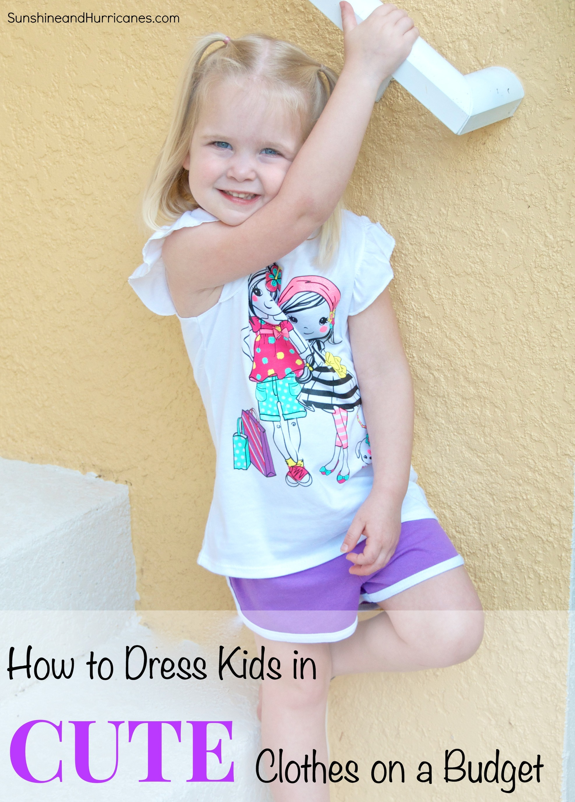 how to dress kids in cute clothes on a budget