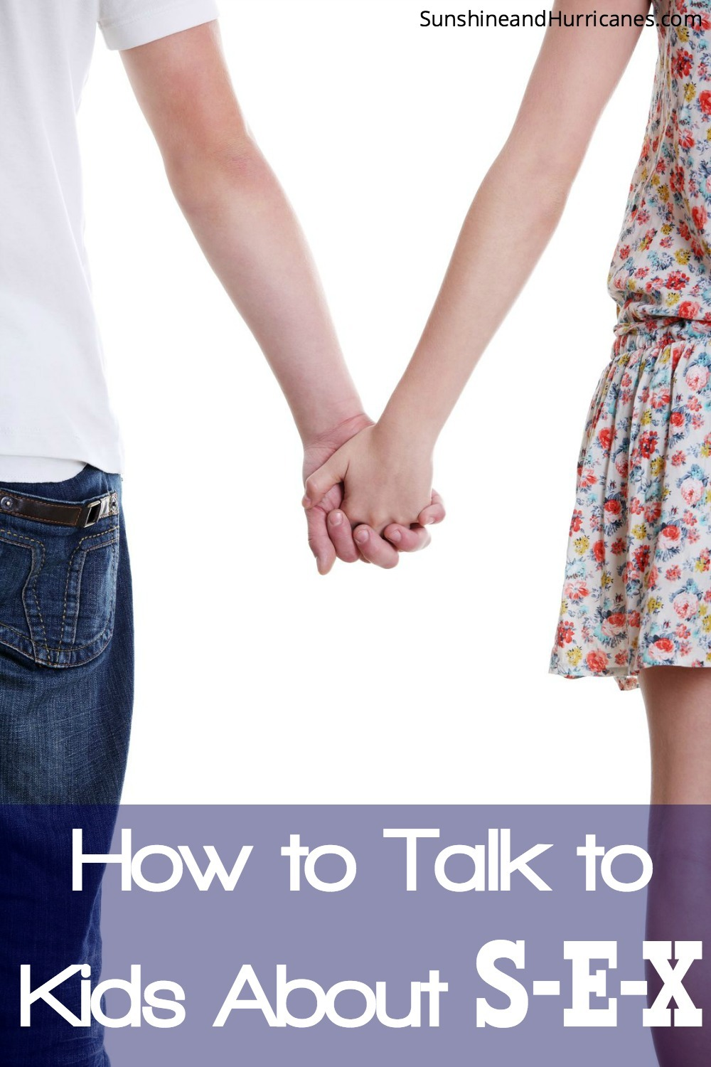 How to start talking about sex