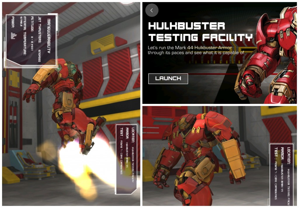 Marvels The Avengers Age of Ultron Hulkbuster Testing Facility Collage