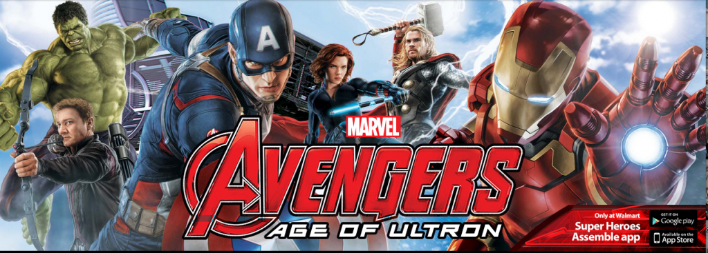 Marvel's The Avengers Age of Ultron Superheroes Assemble App Walmart Website. SunshineandHurricanes.com