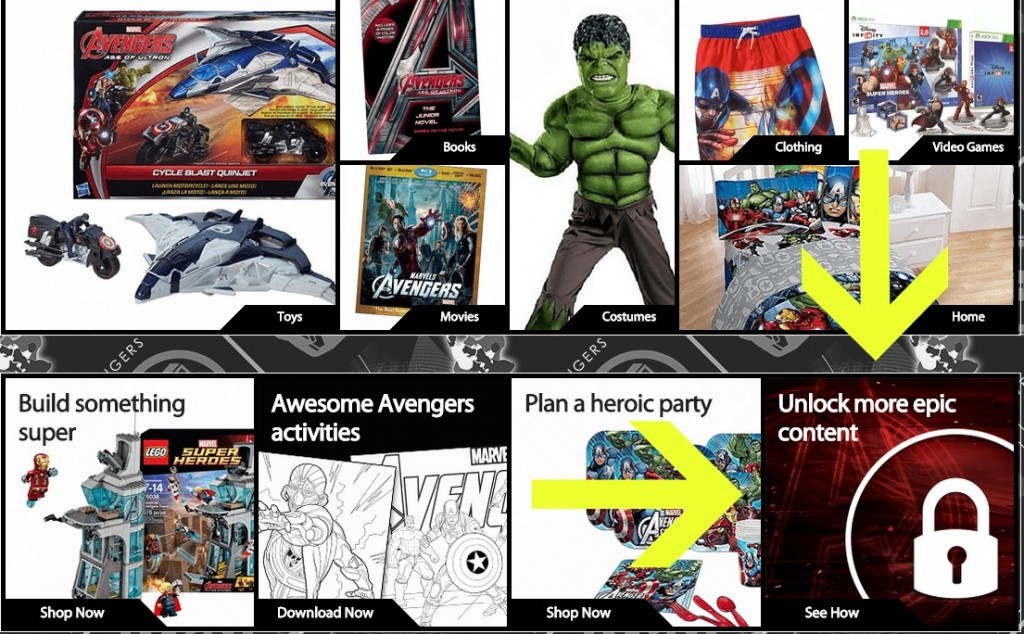 Marvel Avengers Age of Ultron Superheroes Assemble App Web Content 2