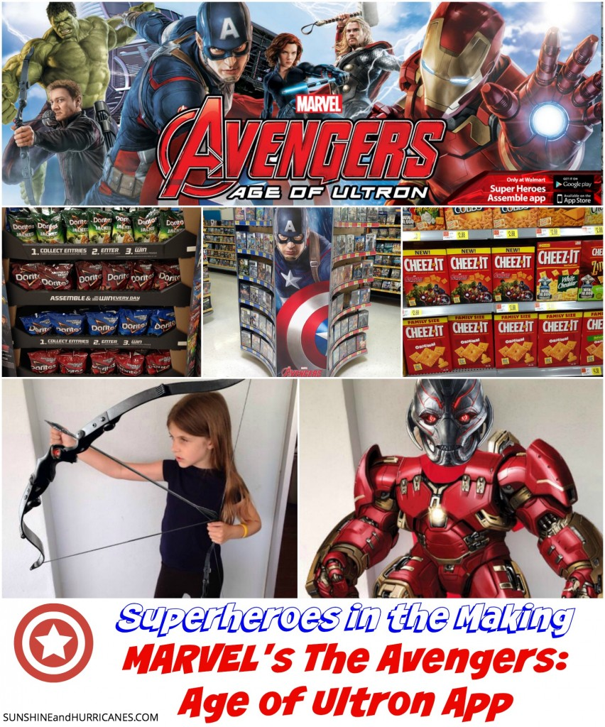 Are you and your family fans of The Avengers Movies? Who is Your Favorite Character? Do You Love the Movies? Here's your chance to have a fully interactive experience where you can learn more about the characters, create photo opps with them, virtually dress up as your favorite character and view trailers of the new Avengers:Age of Ultron film.  Download and start exploring Marvel's The Avengers: Age of Ultron Super Heroes Assemble App today! SunshineandHurricanes.com.