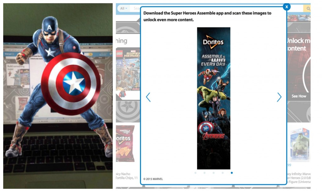 Marvels The Avengers Age of Ultron Captain America Photo Opp Collage