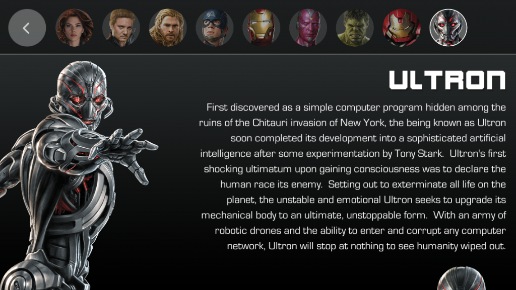Marvel's The Avengers Age of Ultron Superheroes Assemble App Characters