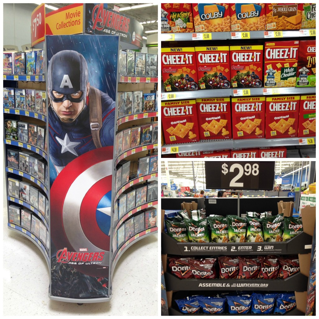 Marvel's The Avengers Age of Ultron Superheroes Assemble App In-Store Collage