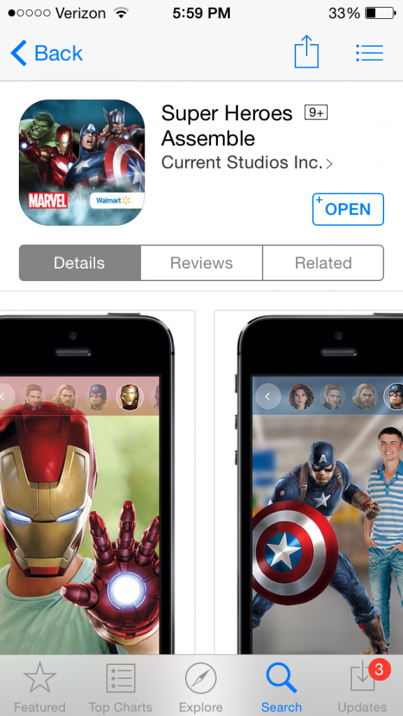 Marvels The Avengers: Age of Ultron Super Heroes Assemble App in the App Store