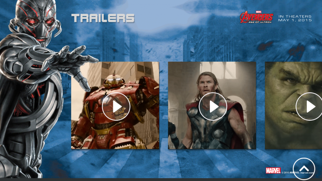 Marvels The Avengers Age of Ultron Trailers