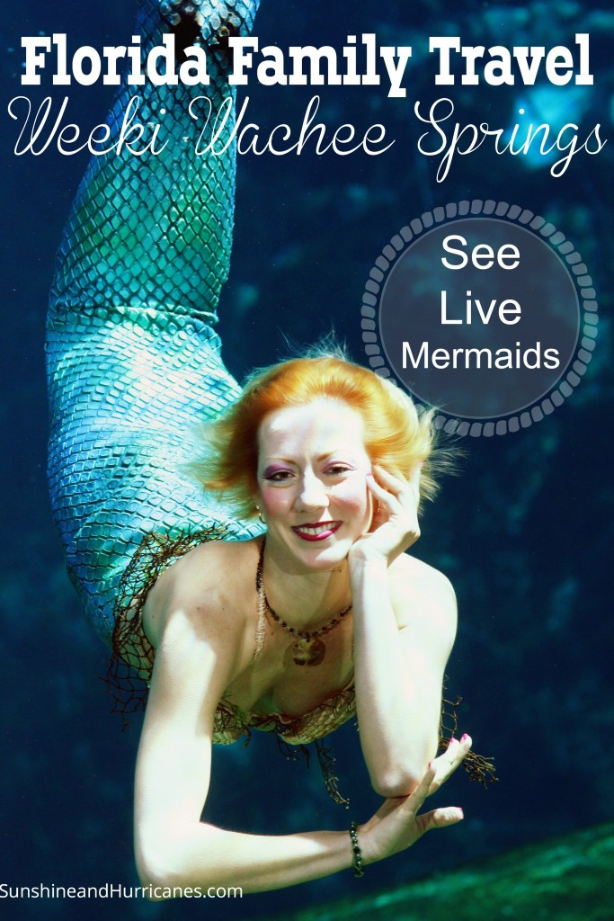 A unique, once in a lifetime experience awaits at this incredible spot, Florida Family Travel Weeki Wachee Springs. See mermaids, swim, go on waterslides, and play at the beach.