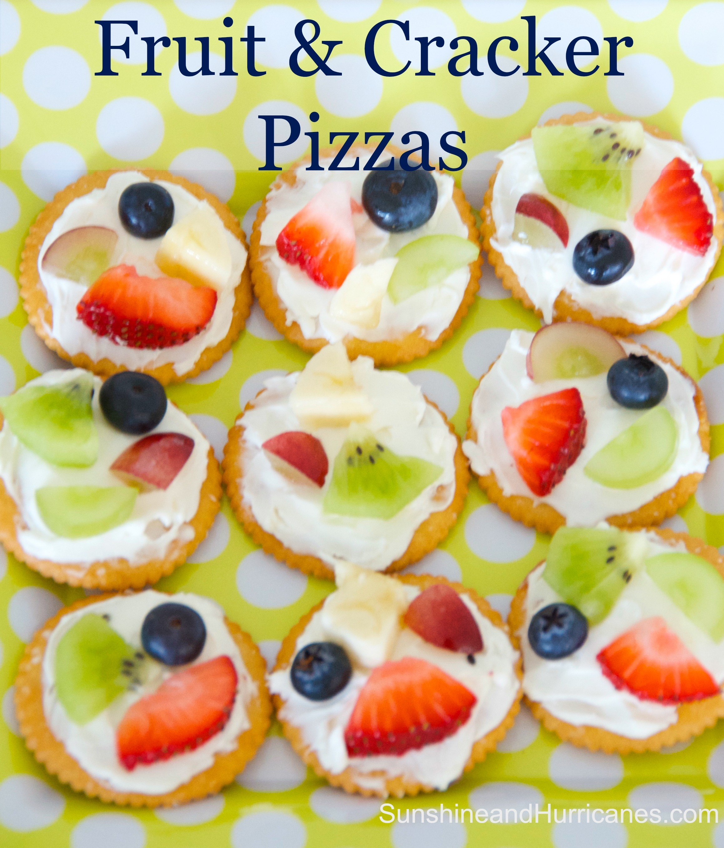 Desert Home Plans Easy Fruit And Cracker Pizzas