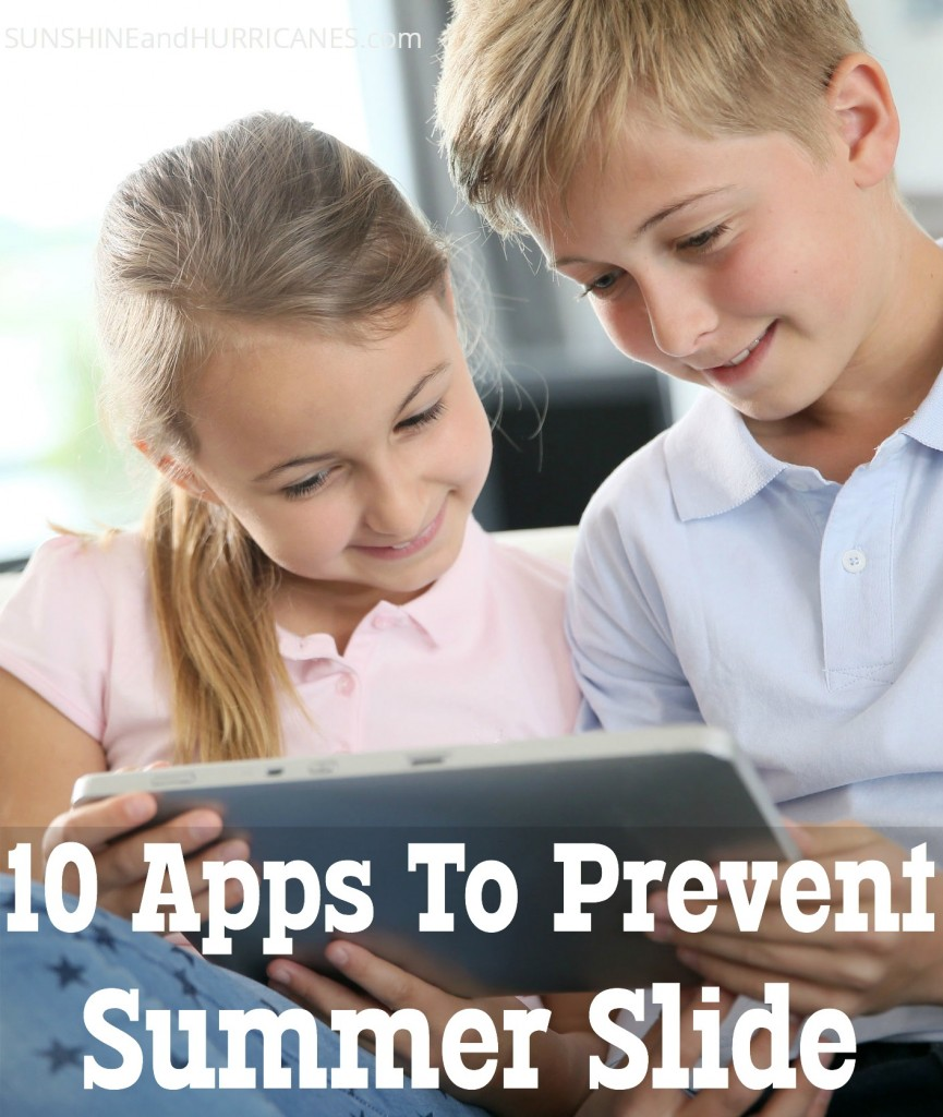 10 Apps To Prevent Summer Slide