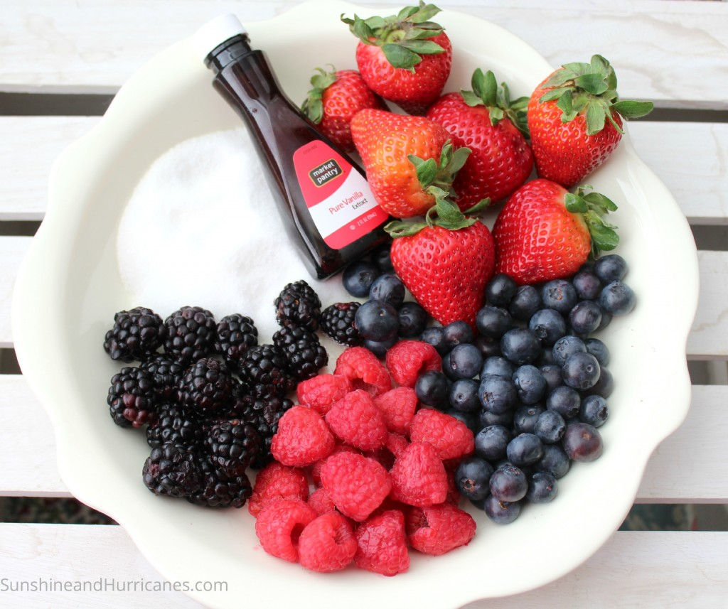 Easy Berry Crisp