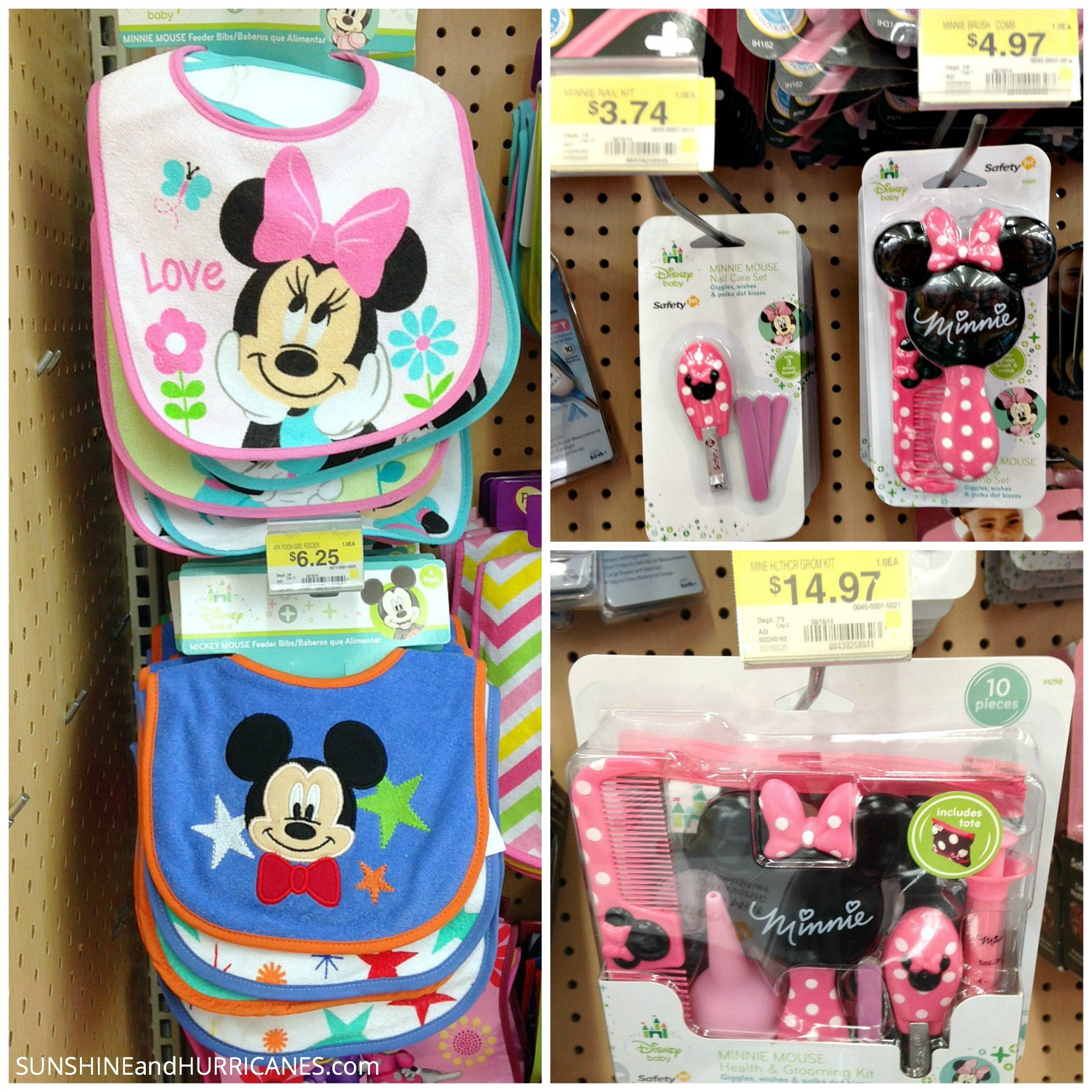 How To Create A Themed Baby Shower Gift Baby Disney Walmart Essentials  Collage