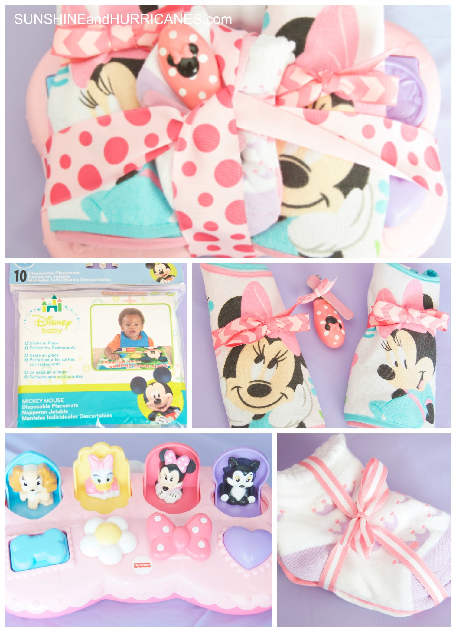 How To Create A Themed Baby Shower Gift Baby Disney Walmart Selections