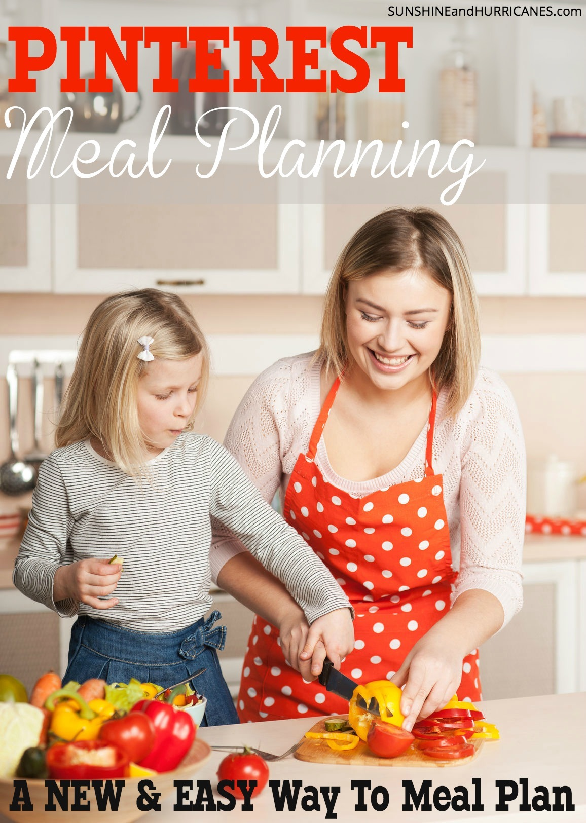 Hate meal planning? Want to make getting dinner on the table easier!? This post has a NEW approach to meal planning that does everything but cook the food for you. 4 weeks of meals all tested and family friendly (kids included!) Recipes and printable shopping lists all organized for you using Pinterst boards. Visually pleasing, easy and fun! Pinterest Meal Planning Introduction. SunshineandHurricanes.com