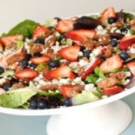 Simple Summer Salad. SunshineandHurricanes.com