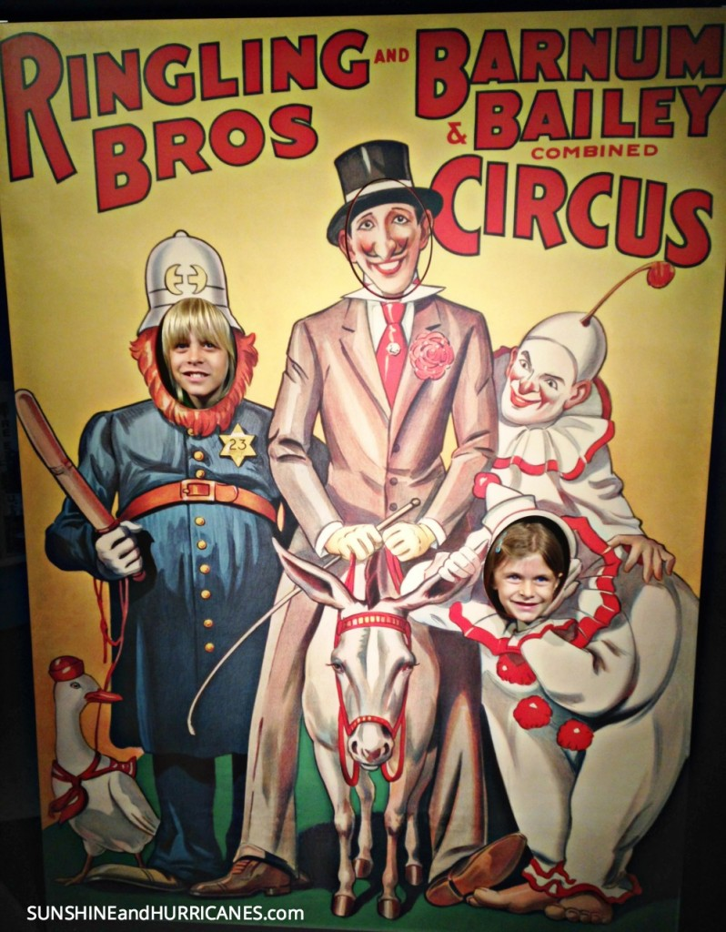 One of the best attractions to visit in Sarasota is the Ringling Circus Museum. Children and Adults alike will be charmed learning all about life under the big top. Florida Family Travel Sarasota. SunshineandHurricanes.com