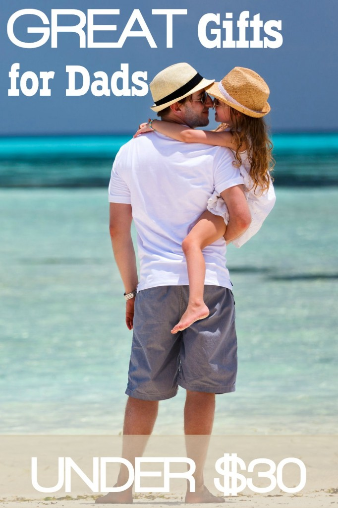 Looking for just the perfect gift for the Dad in your life? In this post you'll find options that cover many of Dads passions and interests and all for affordable prices. Great Gifts for Dad Under $30. SunshineandHurricanes.com