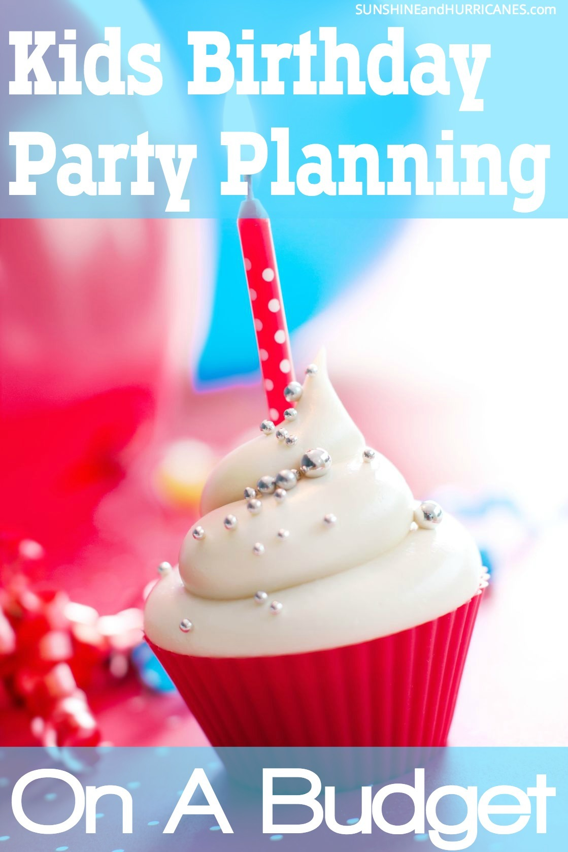 Do you want to throw an Birthday Party that is sure to be tons of fun, but without spending a fortune? It's easy to do and we'll show you how. Kids are far easier to please than we think and there are tons of tips and tricks to make Kids Birthday Parties but totally awesome and completely affordable. Kids Birthday Party Planning on a Budget. SunshineandHurricanes.com