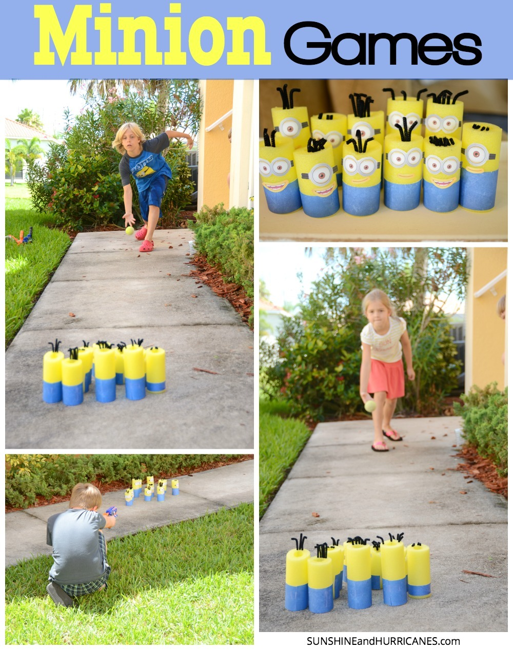 Minion Games Nerf And Bowling