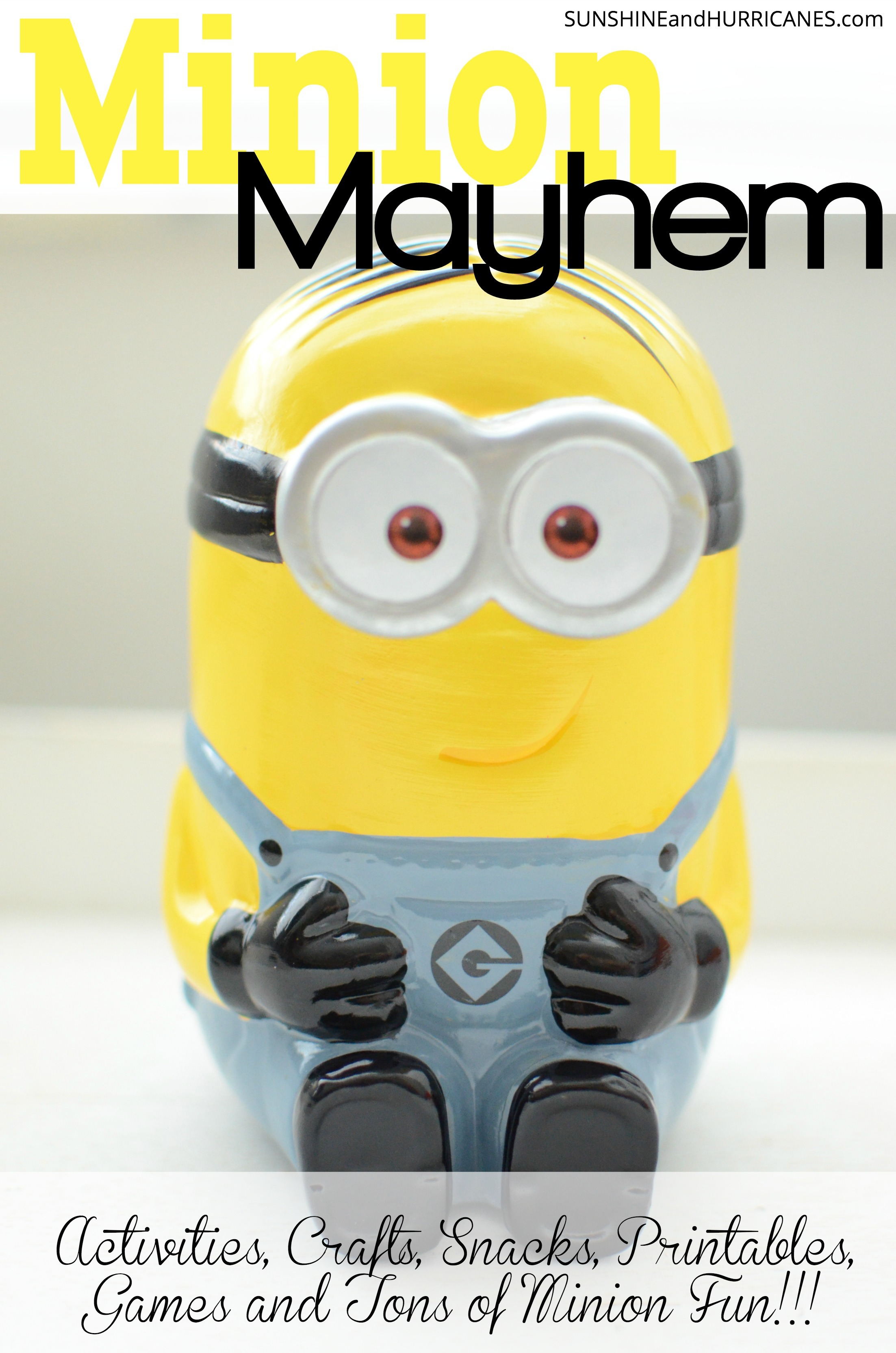 image relating to You Re One in a Minion Printable identified as Minion Functions, Game titles, Printables and Additional
