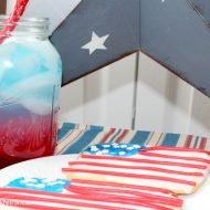 Patriotic Punch With Flag Cookies – Two 4th of July Recipes