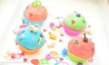 Playdough Cupcakes