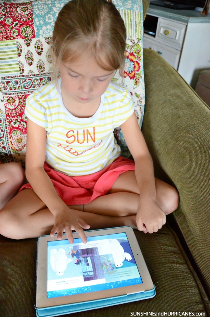 Raising Kids Who Love to Read with Disney Story Central App. SunshineandHurricanes.com