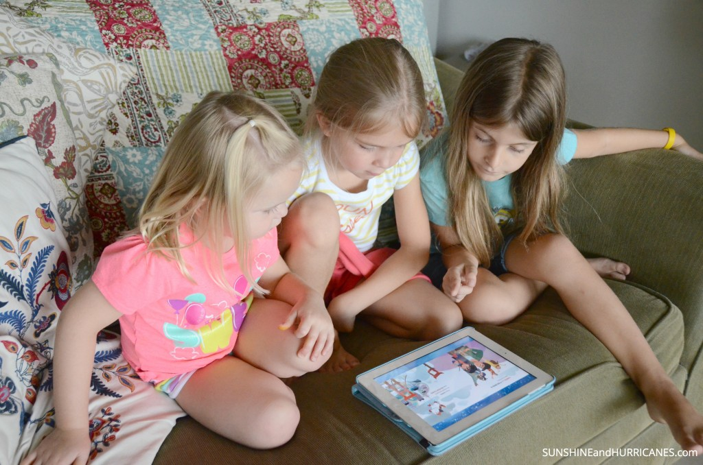 Raising Kids Who Love to Read with Disney's Story Central App. SunshineandHurricanes.com