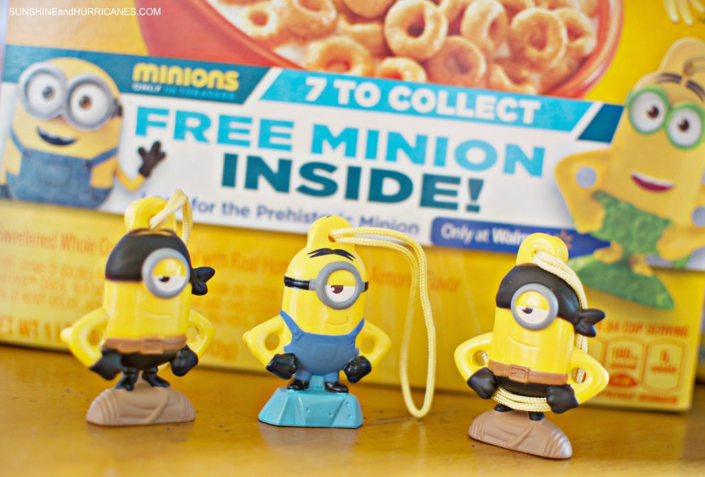 Find the 7th Minion in specially market boxes of General Mills cereal only at Walmart. SunshineandHurricanes.com