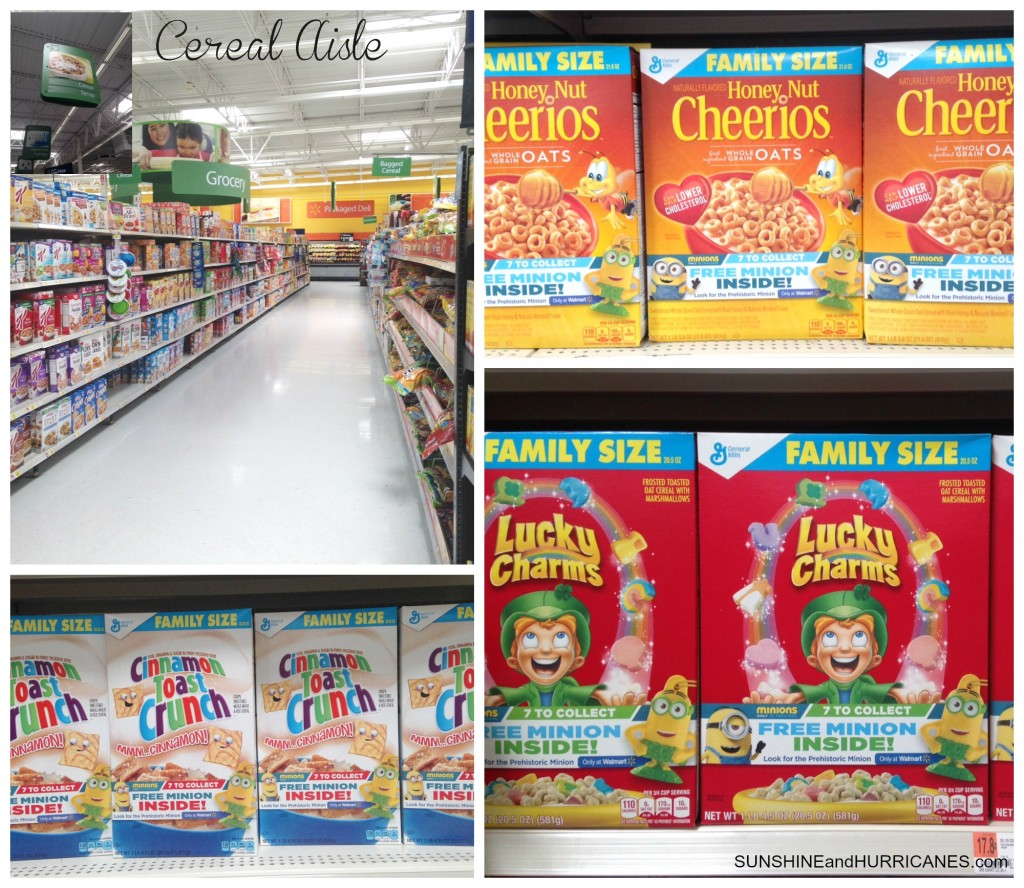 The 7th Minion General Mills Cereal Boxes Walmart. SunshineandHurricanes.com