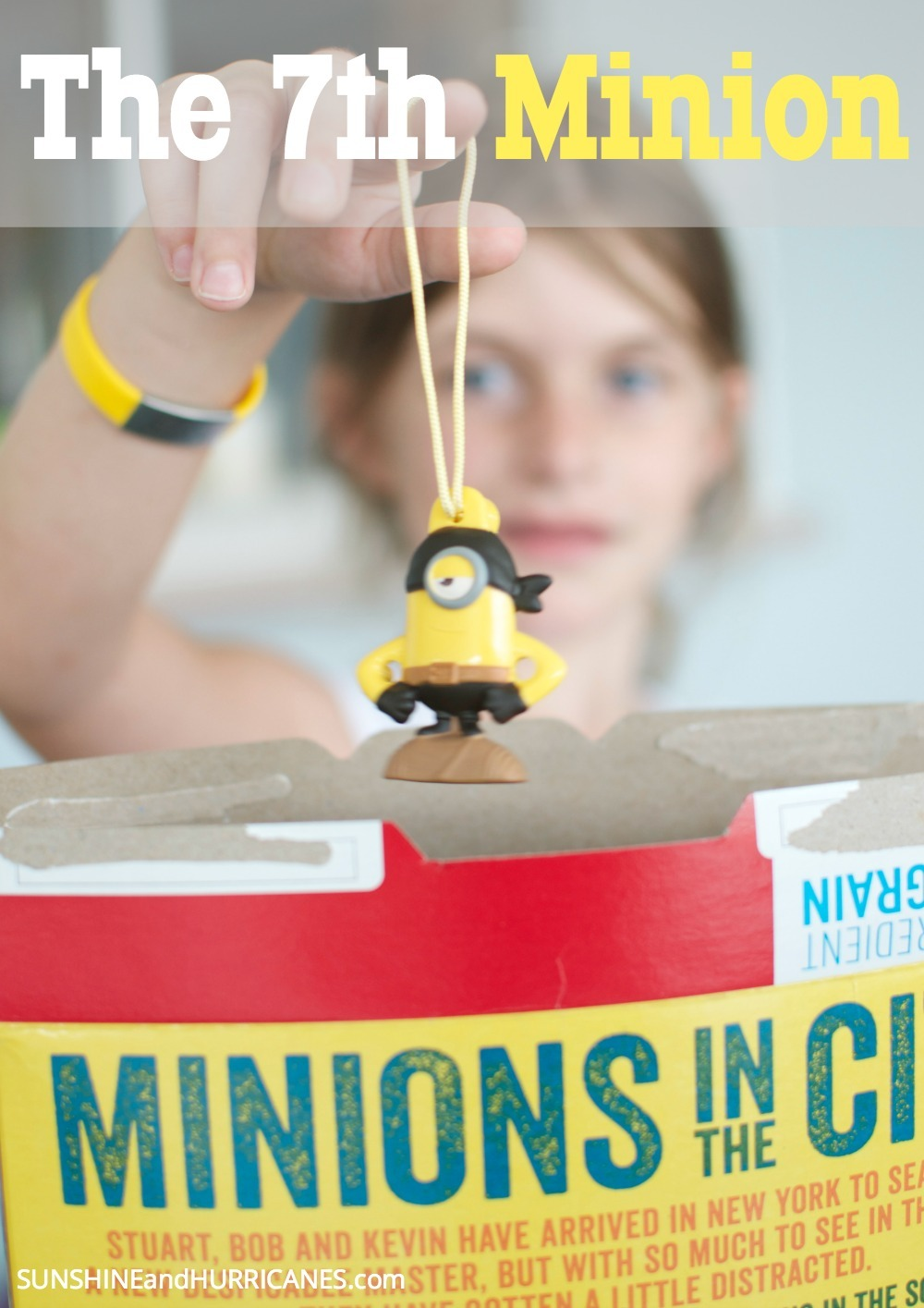 Are you a Minion Lover? Then you'll definitely want to collect all the adorable minions in specially marked boxes of family sized General Mills cereal at Walmart stores.  There is even a special prehistoric 7th Minion you won't find anywhere else! Happy Hunting. SunshineandHurricanes.com